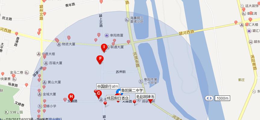 平和文峰镇地图