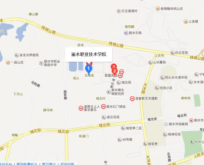 白云学院校园地图