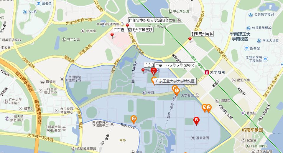 华南理工大学 地图