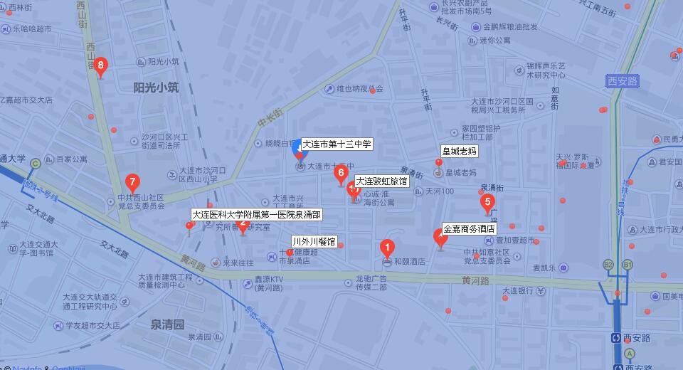 辽宁盖县所有乡镇地图