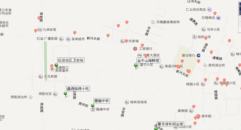 营口地图高清版