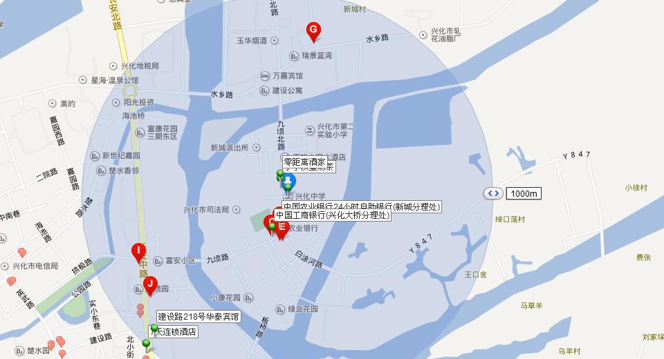 兴化地图高清版